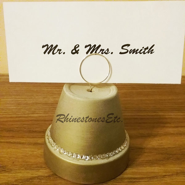 DIY place card holder for your wedding