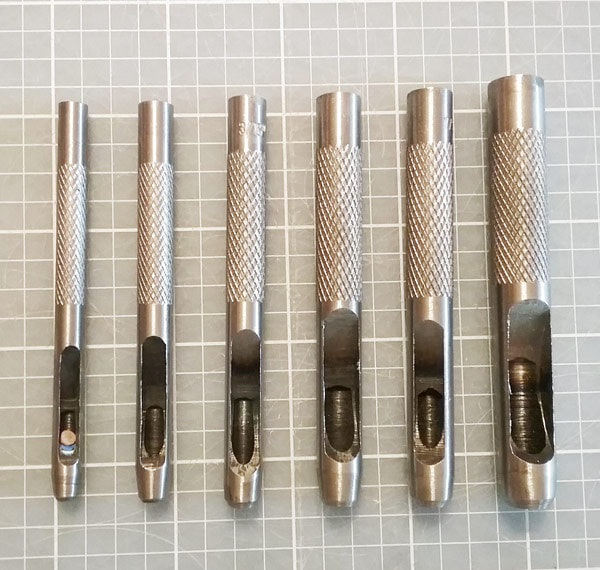 Paper punch tools