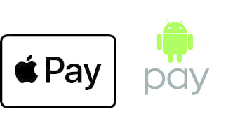 Apple and Android Pay logo