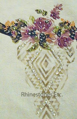 How to glue rhinestones to fabric